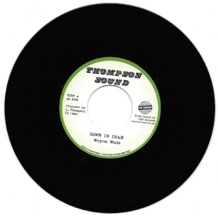 Wayne Wade - Down In Iran / version (Thompson Sound / TRS) EU 7""